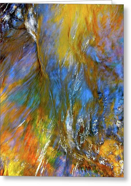 Water Wonder 164 Greeting Card by George Ramos