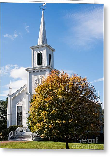 Waterbury Congregational Church, Ucc Greeting Card