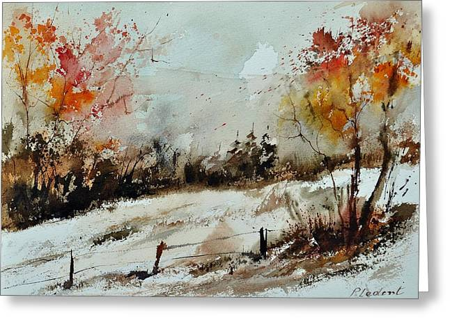 X-15 Greeting Cards - Watercolor 018090 Greeting Card by Pol Ledent