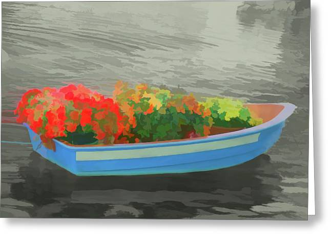 Greeting Card featuring the photograph Watercolor Boat Parade by Aimee L Maher Photography and Art Visit ALMGallerydotcom