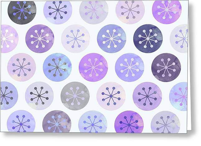 Watercolor Lovely Pattern II Greeting Card by Amir Faysal