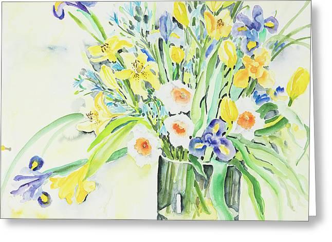 Watercolor Series 143 Greeting Card
