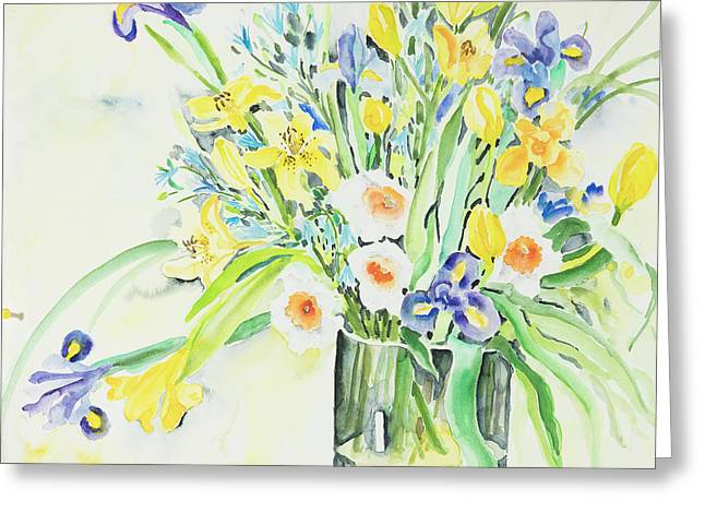 Watercolor Series 143 Greeting Card