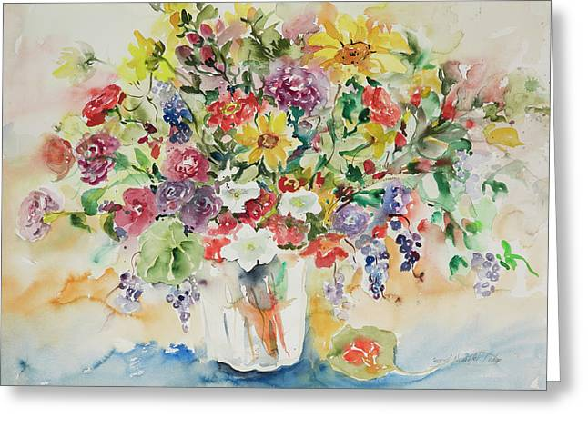 Watercolor Series 33 Greeting Card