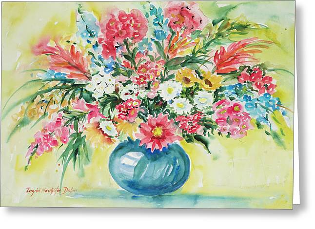 Watercolor Series 58 Greeting Card
