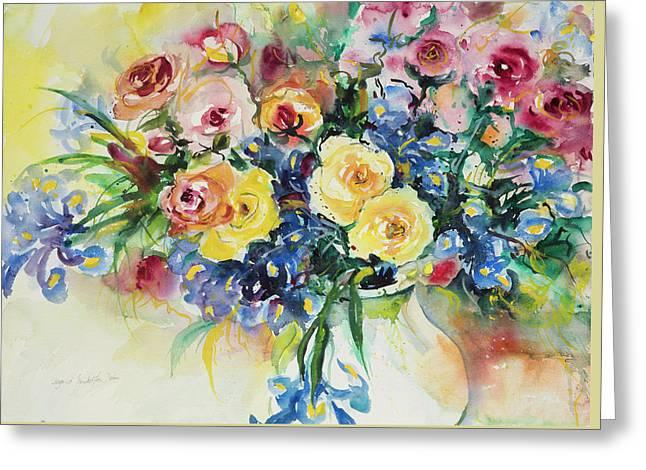 Watercolor Series 62 Greeting Card