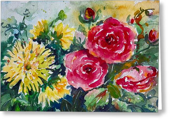 Watercolor Series No. 212 Greeting Card