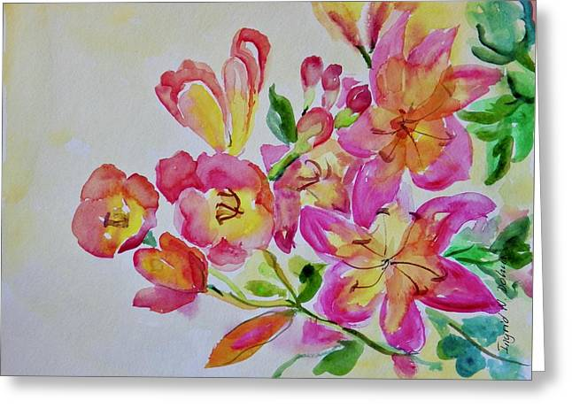 Watercolor Series No. 225 Greeting Card