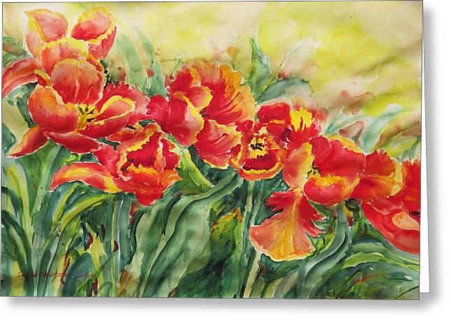 Watercolor Series No. 241 Greeting Card
