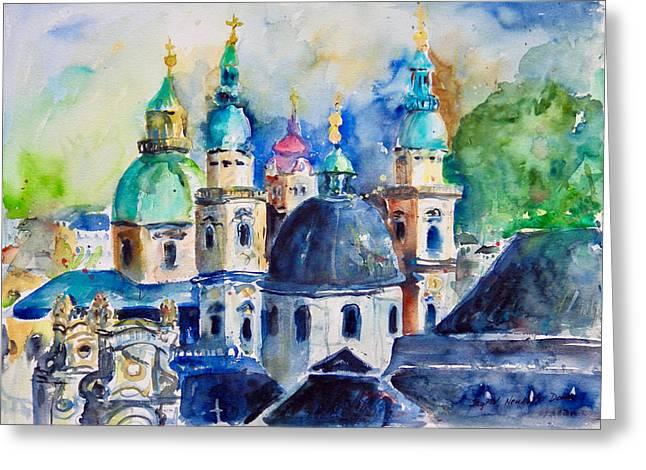 Watercolor Series No. 247 Greeting Card