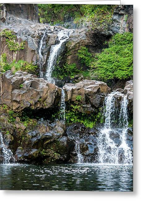 Waterfall Series Greeting Card