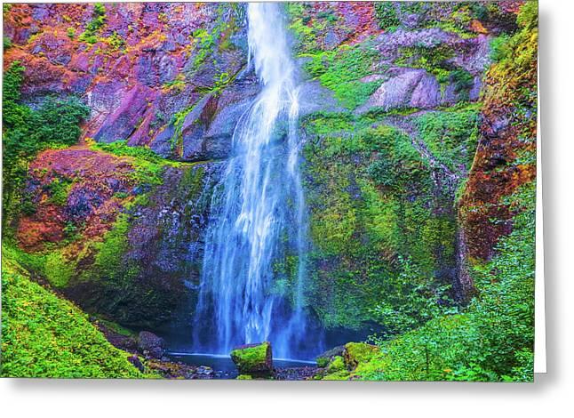 Waterfall 1 Greeting Card
