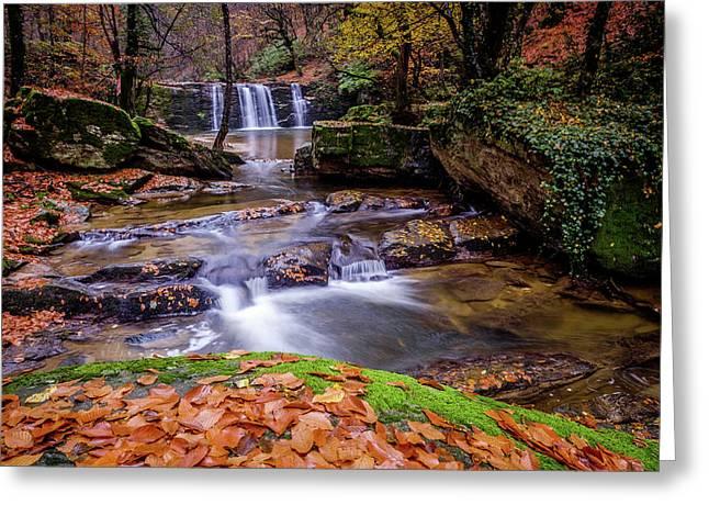Waterfall-2 Greeting Card