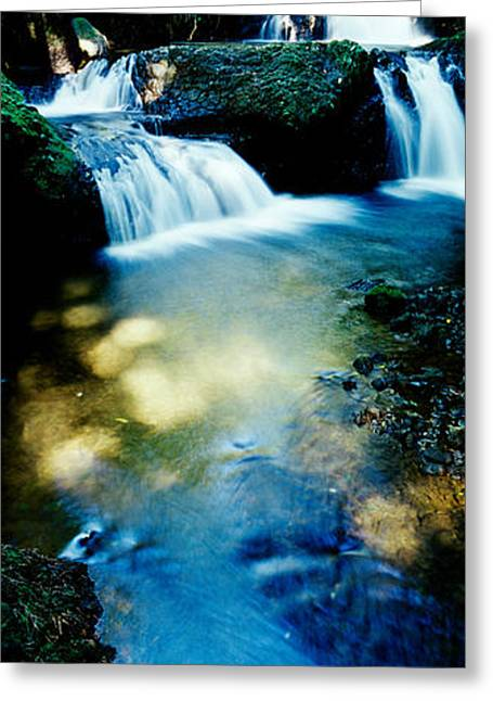 Waterfall Hilo Hi Greeting Card by Panoramic Images