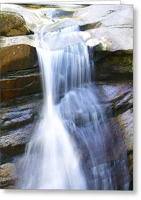 Waterfall In Nh Greeting Card