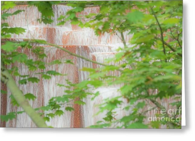 Waterfall, Portland Greeting Card