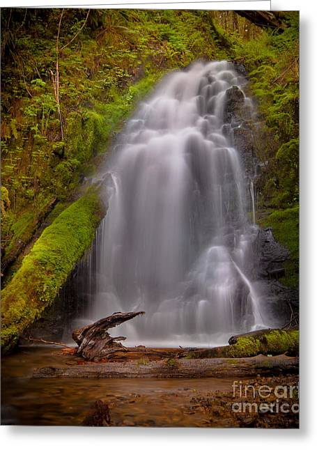 Waterfall Showers Greeting Card