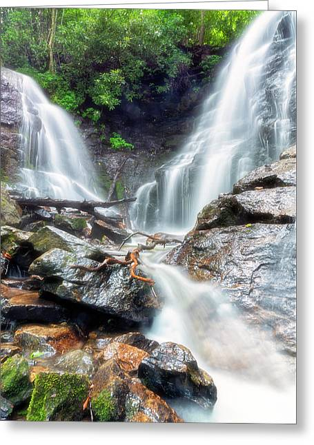 Waterfall Silence Greeting Card