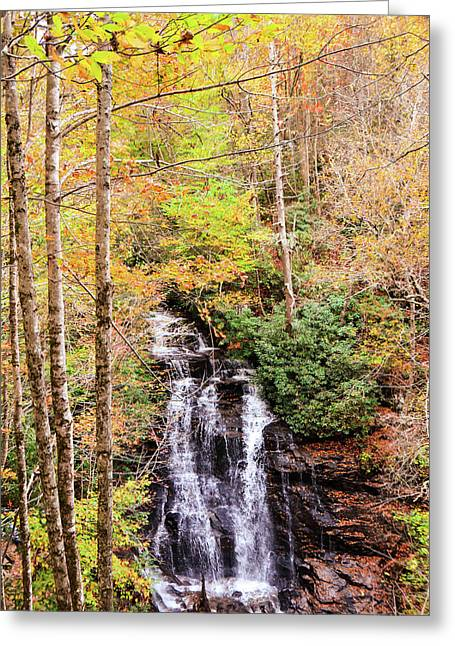 Waterfall Waters Greeting Card