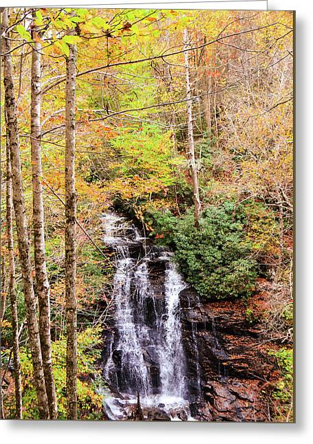 Waterfall Waters Greeting Card