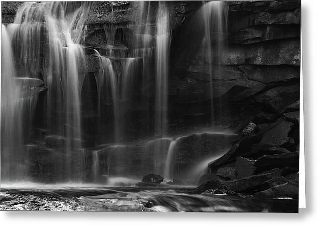 Waterfall Wonderworld Greeting Card by Dan Sproul