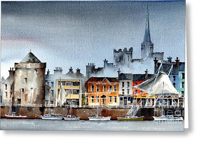 Waterford  City Quays Greeting Card