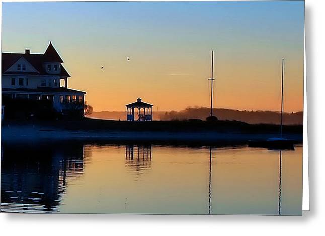 Waterfront Living Greeting Card