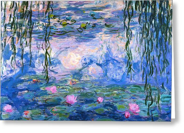 Waterlilies 1919  Greeting Card