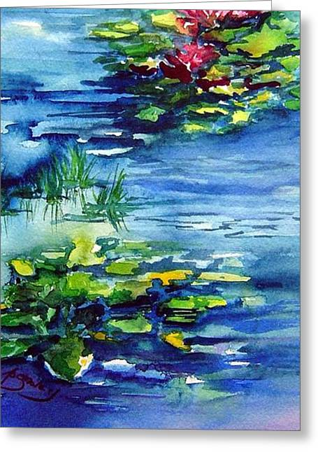 Waterlilies Greeting Card