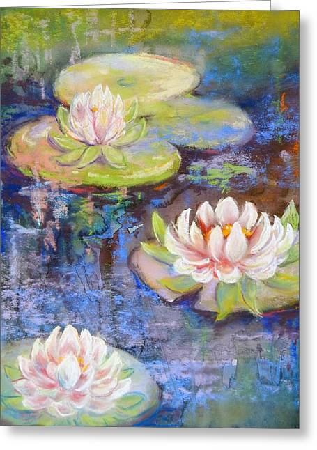 Waterlillies Greeting Card