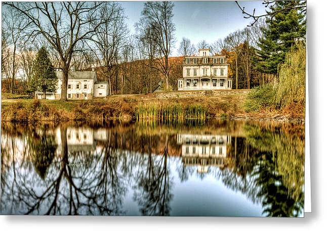 Waterloo Historical Village, Stanhope, Nj Greeting Card by Geraldine Scull