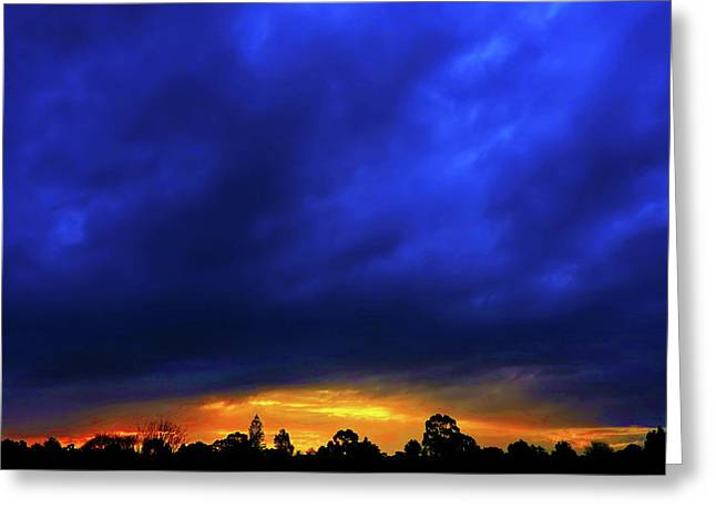 Greeting Card featuring the photograph Waterloo Sunset by Mark Blauhoefer