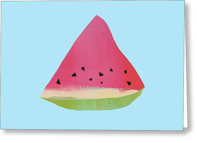 Watermelon Greeting Card by Jacquie Gouveia