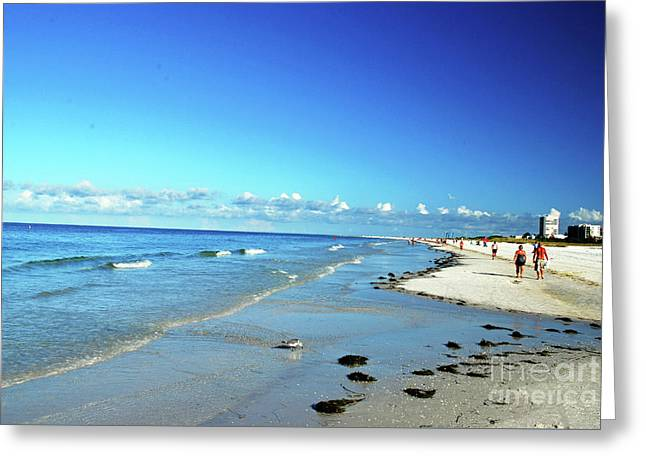 Greeting Card featuring the photograph Water's Edge by Gary Wonning