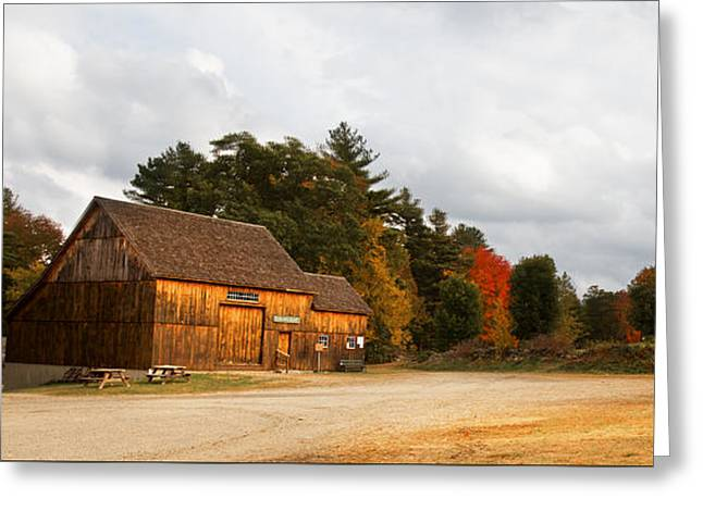 Waters Farm Greeting Card by April Brown