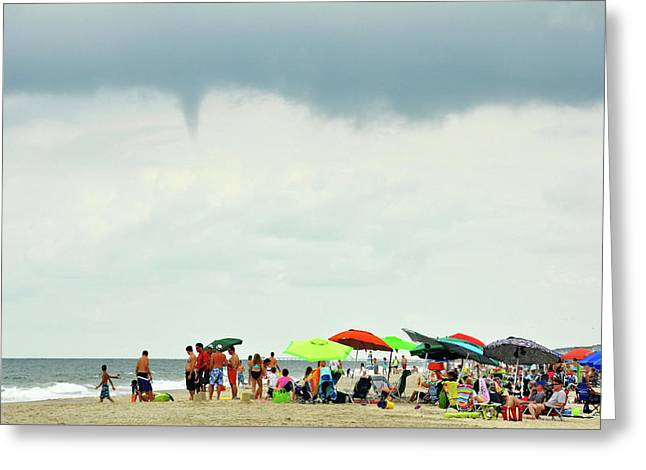 Waterspout Greeting Card by JAMART Photography