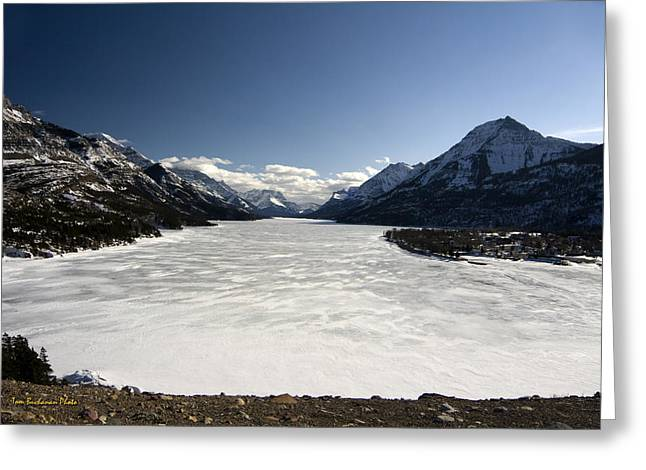 Waterton In Winter Greeting Card