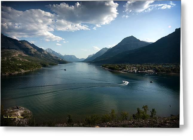 Waterton Lake Greeting Card