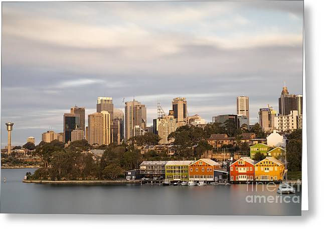 Waterview Wharf Workshops Greeting Card