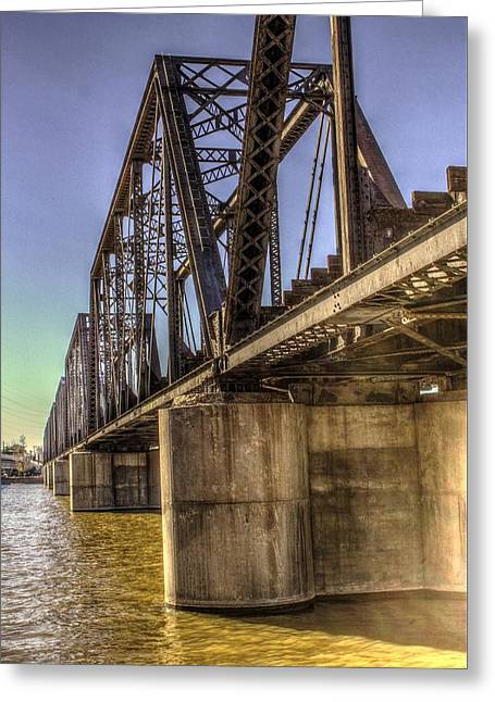 Waterway Bridge Greeting Card