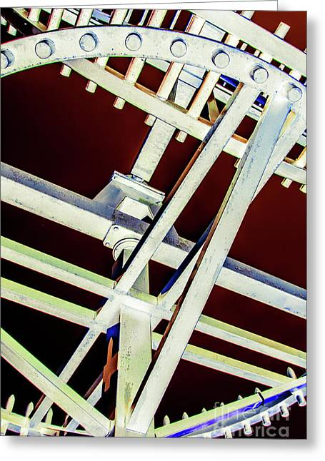 Waterwheel #2 Greeting Card