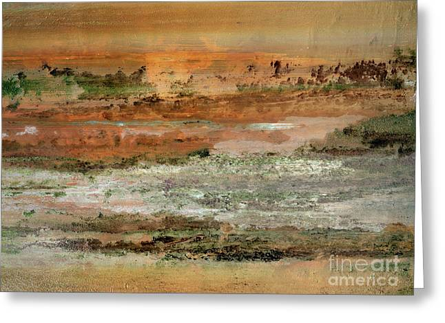 Greeting Card featuring the photograph Waterworld #0955 by Hans Janssen