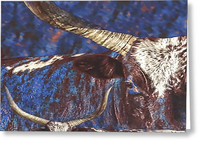 Watusi Blues Greeting Card