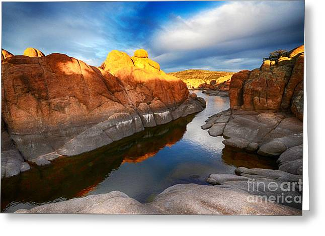 Watson Lake Arizona 10 Greeting Card