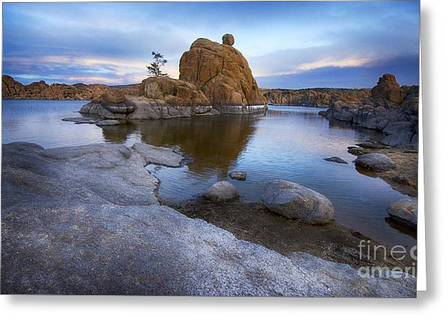 Watson Lake Arizona 14 Greeting Card