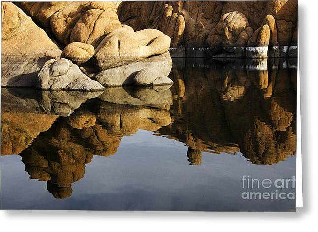 Watson Lake Arizona 3 Greeting Card