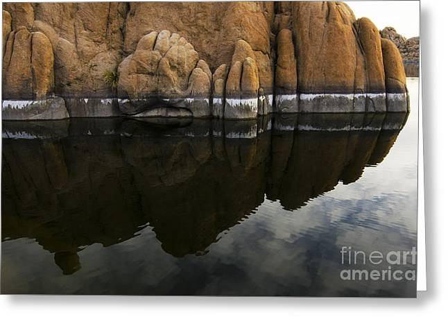 Watson Lake Arizona 7 Greeting Card
