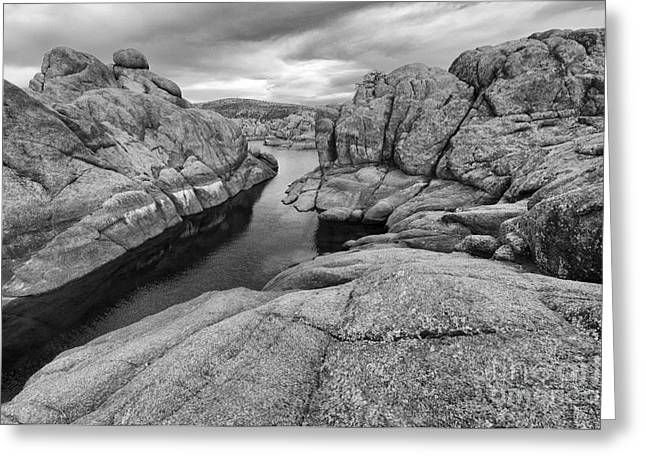 Watson Lake Arizona 8 Greeting Card