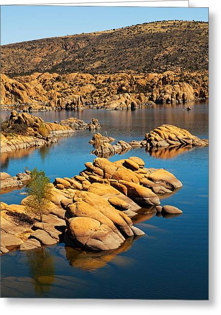 Watson Lake - Prescott Az Usa Greeting Card by Susan Schmitz