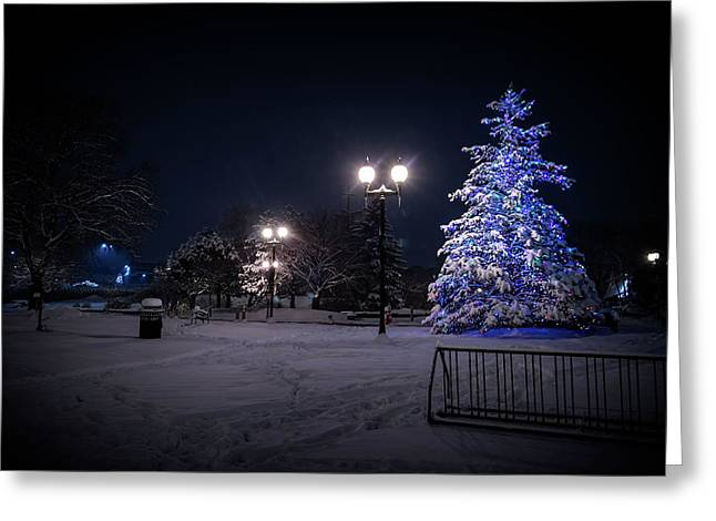 Wauwatosa Christmas - 2016 Greeting Card by CJ Schmit
